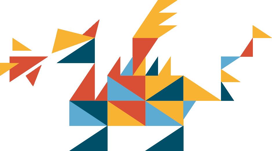 Illustration eines Drachen