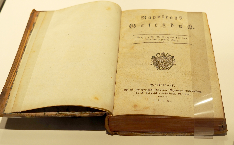 Abbildung des Code Napoleon