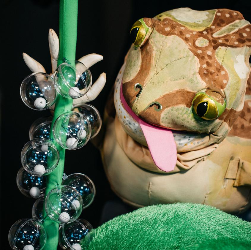 Knoblauchkröte © Kindertheater Hille Pupille
